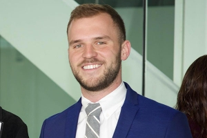 Appalachian State University alumnus Tommy Wrenn '14, who earned a B.A. in political science with minors in communication and music, works as the associate director of individual giving at Resources for the Future in Washington, D.C. Photo submitted