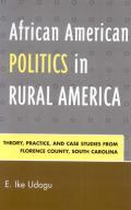 African American Politics in Rural America book cover