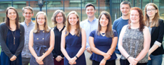 2016 Chancellor's Scholar Political Science Students