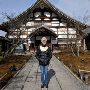 Claire Engel in Japan