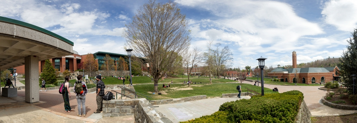 view of the quad